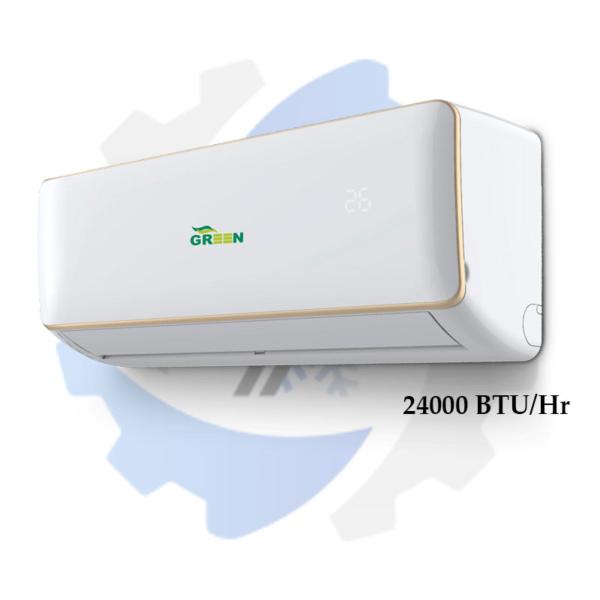کولر گازی و اسپلیت 24000 گرین قیمت و مشخصات خرید